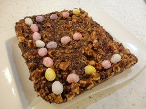 No Bake Rocky Road